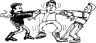 0511-0809-2216-4311_Two_Boys_Fighting_Over_a_Third_Boy_clipart_image