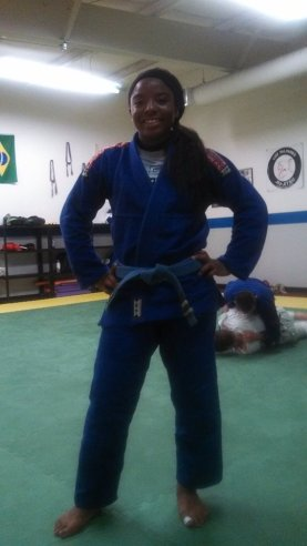 After training 2 hrs, 92 degrees. I look a mess but the gi survived