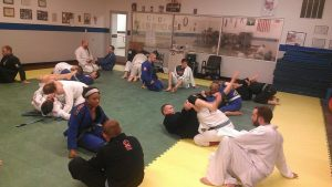 Old, young, fit, shapely, it doesn't matter. Everyone is welcome on the mat.